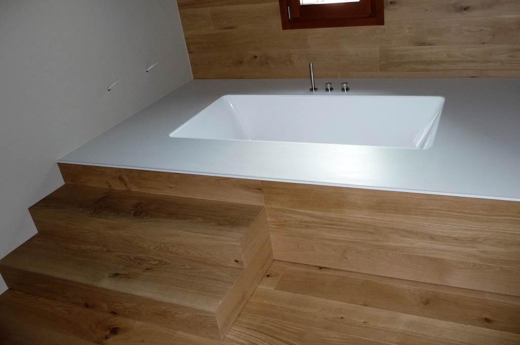 7f5ec2bbb931 Vasca da bagno in Corian su misura a Treviso